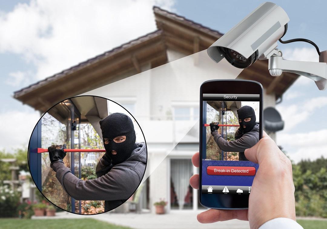 Caméra de surveillance maison et entreprise