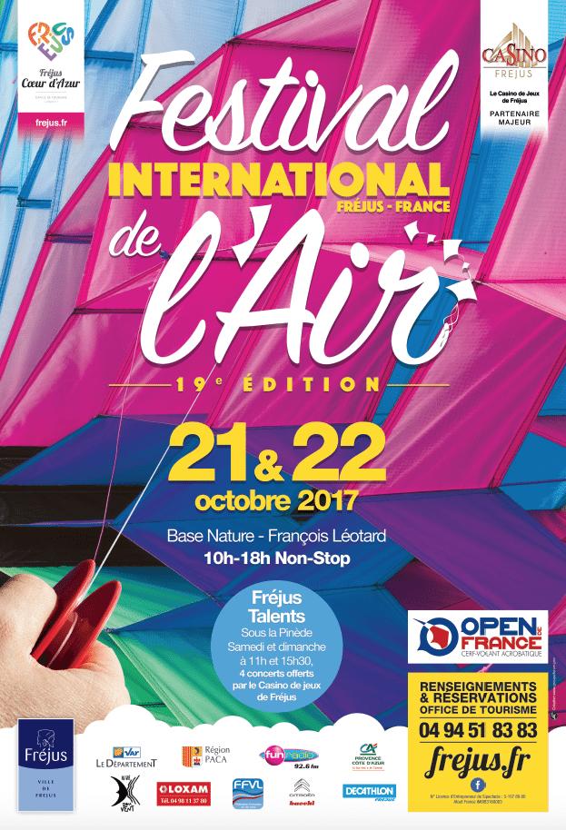 Festival international de l'air de Fréjus dans le Var (83)